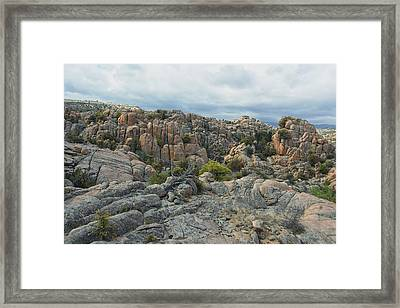 The Dells Framed Print