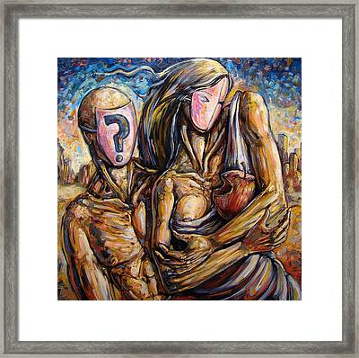 The Delusional Confusion Framed Print by Darwin Leon