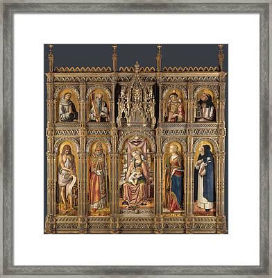 The Demidoff Altarpiece Framed Print