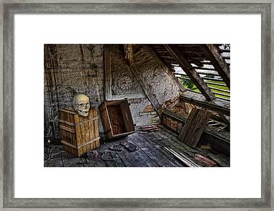 The Demise Of Mr Potter Framed Print by John Haldane