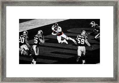 The Denver Broncos Bennie Fowler Framed Print