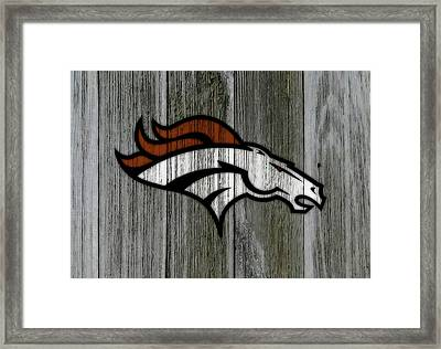 The Denver Broncos C2 Framed Print