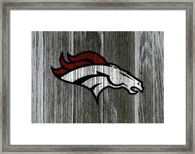 The Denver Broncos C4 Framed Print