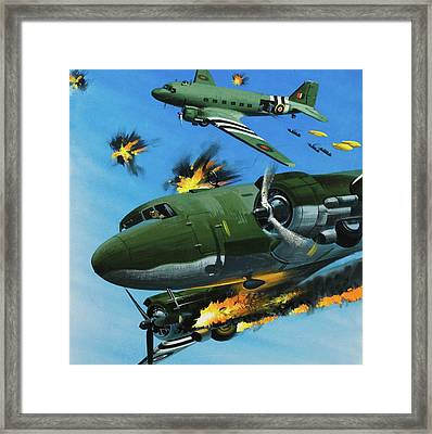 The Dependable Dakota Framed Print