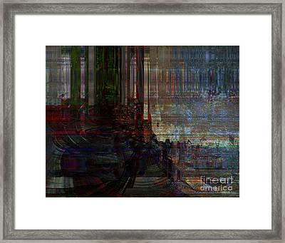 The Depth Of Challenge Framed Print by Fania Simon