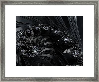 The Depths Framed Print