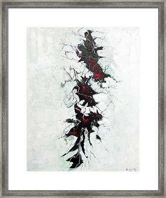 The Depths Within  Framed Print