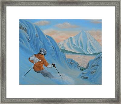 The Descent Beyond Framed Print