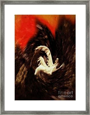 The Descent Framed Print by John Greim