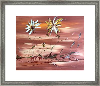 The Desert Garden Framed Print