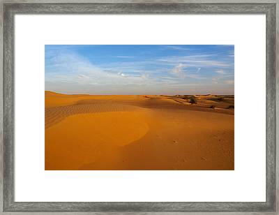 The Desert  Framed Print by Jouko Lehto