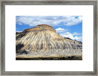 The Desert Framed Print