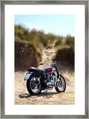 The Desert Racer Framed Print