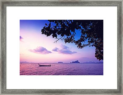 The Deserved Rest Framed Print