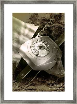 The Detective And The Callback Framed Print by Jorgo Photography - Wall Art Gallery