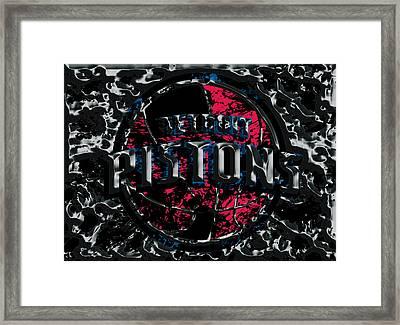 The Detroit Pistons Framed Print