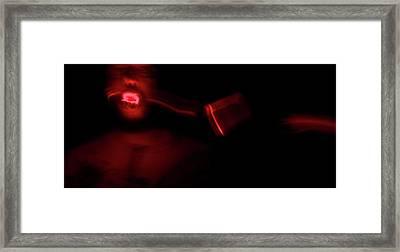 The Devil Inside Me Framed Print