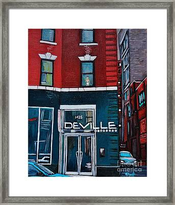 The Deville Framed Print by Reb Frost