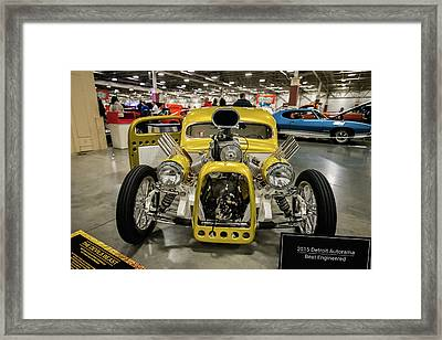 Framed Print featuring the photograph The Devils Beast by Randy Scherkenbach
