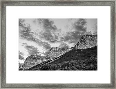 The Devil's Stair-steps Framed Print