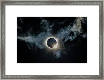 The Diamond Ring 2017 Framed Print