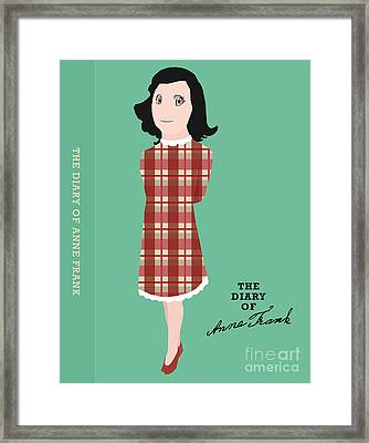 The Diary Of Anne Frank Book Cover Movie Poster Art 2 Framed Print