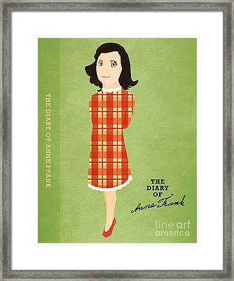 The Diary Of Anne Frank Book Cover Movie Poster Art 4 Framed Print by Nishanth Gopinathan