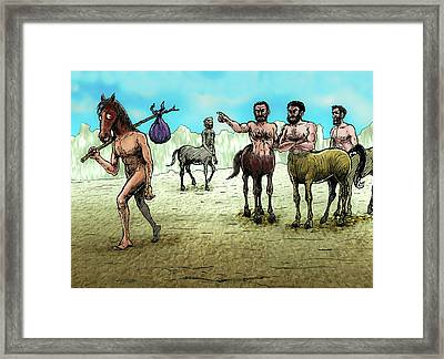 The  Different  One Framed Print