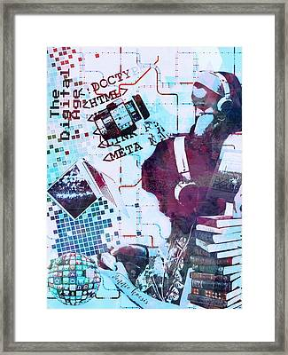 The Digital Age Framed Print