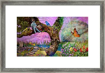 The Digital Artist Framed Print