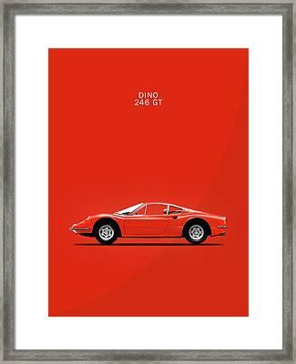 The Dino Framed Print