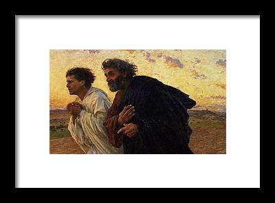 Disciple Framed Prints