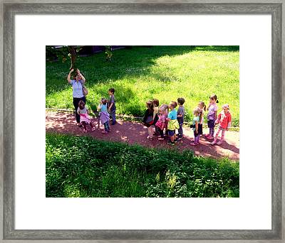The Discovery Of Rowan  Framed Print