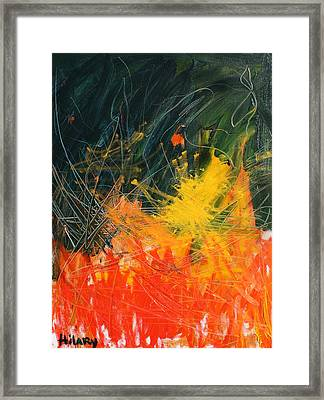 The Dissipation Of The Ransom Framed Print by Hilary England