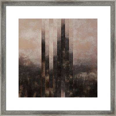 The Distance Framed Print by Lonnie Christopher
