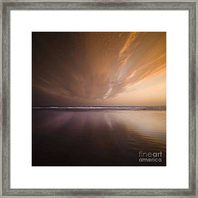 The Distant Horizon Framed Print by Angel  Tarantella