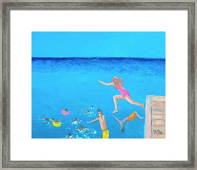 The Divers Framed Print