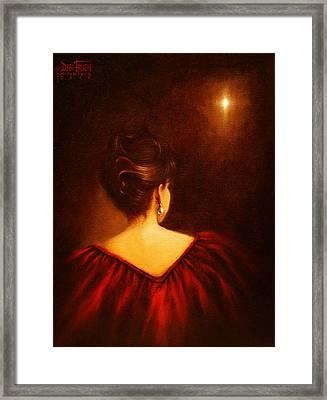 The Divine Clew  Framed Print by Debi Frueh