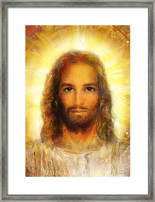 The Divine Mercy, Jesus I Trust In You - 4 Framed Print