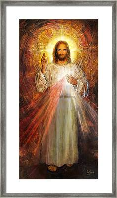 The Divine Mercy,  Jesus I Trust In You - 2 Framed Print