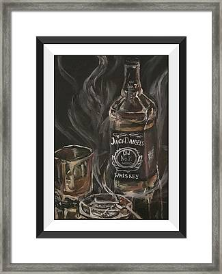 The Divorcee Framed Print