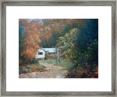 The Dixon Place Framed Print by Ed Gowen