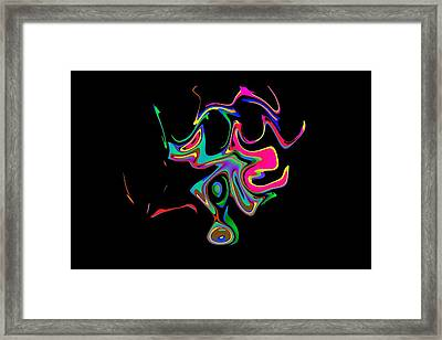 The Djinn Of The Lamp Framed Print