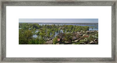 The Dnieper Vastness. Lyubech, 2010. Framed Print