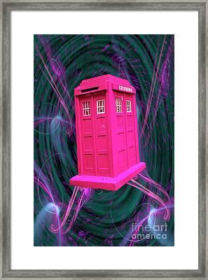 The Doc Box  Framed Print