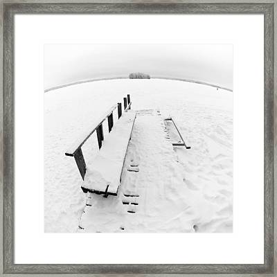 The Dock 1 Framed Print by Jouko Lehto