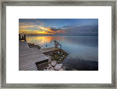 The Dock Framed Print by Al Hurley