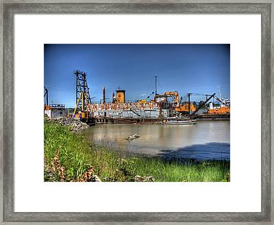 The Docks II Framed Print