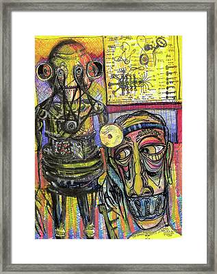 The Doctor Framed Print by Robert Wolverton Jr