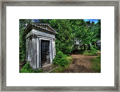 The Doctor's Tomb Framed Print by Oliver Kluwe